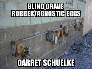 Blind Grave Robber/Agnostic Eggs  by  Garret Schuelke