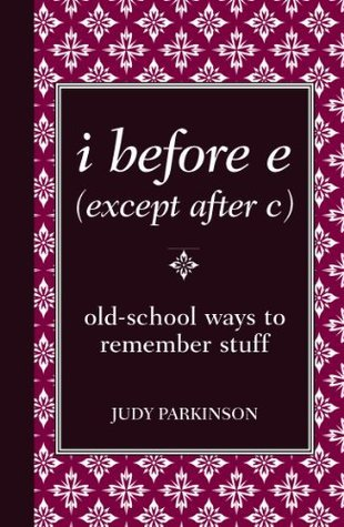 i before e  by  Parkinson Judy