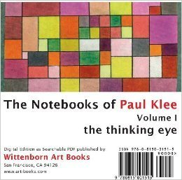 The Thinking Eye:  The Notebooks of Paul Klee. Volume 1 CD-ROM Paul Klee