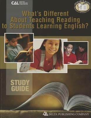 Whats Different about Teaching Reading to Students Learning English?, Study Guide  by  Kaufman Dorothy