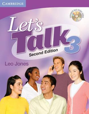 Lets Talk Level 3 Students Book with Self-study Audio CD (Lets Talk Leo Jones