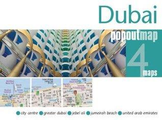 Dubai Popout Map  by  Popout Maps