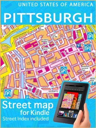 Map of Pittsburgh  by  Digital Maps