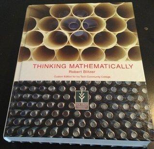 Thinking Mathematcally Robert Blitzer