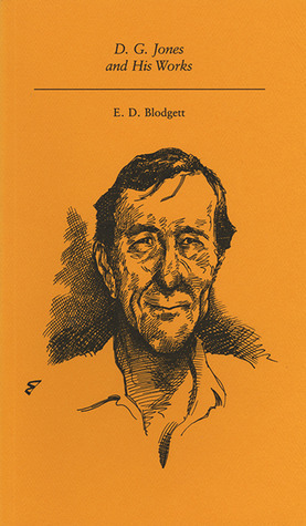 D.G. Jones and His Works  by  E.D. Blodgett