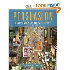 Persuasion - Reception and Responsibility - 11th (Eleventh) Edition  by  Charles Larson