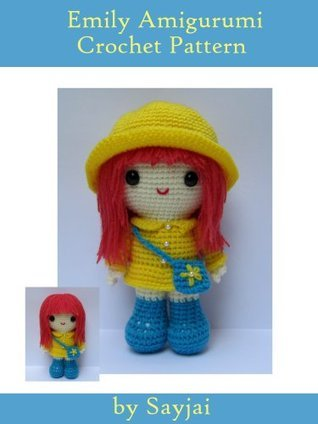 Emily Amigurumi Crochet Pattern  by  Sayjai