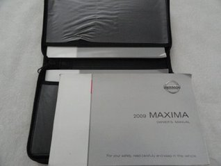 2009 Nissan Maxima Owners Manual Nissan
