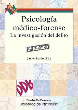 Psicología médico-forense Javier Burón