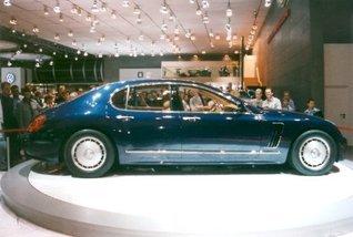 Bugatti EB218  by  Daniel W. Turner