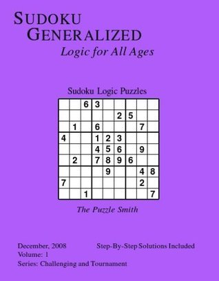 Sudoku Logic Puzzles, Vol 1, (CT)  by  Puzzle Smith