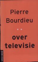 Over televisie Pierre Bourdieu