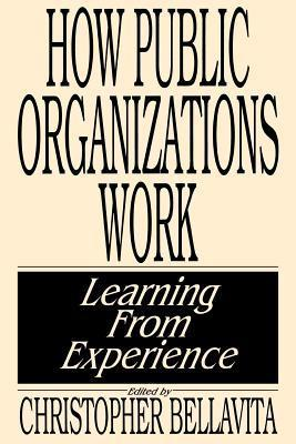 How Public Organizations Work: Learning From Experience  by  Christopher Bellavita