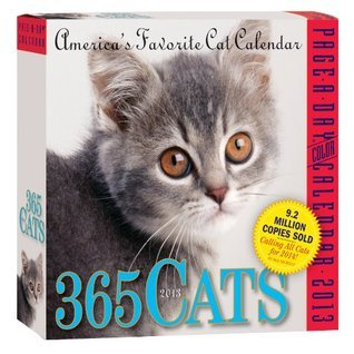 365 Cats 2013 Page-A-Day Calendar  by  NOT A BOOK