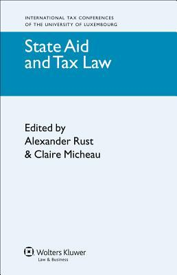 State Aid and Tax Law Alexander Erust