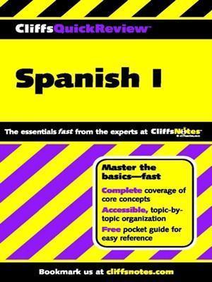 Cliffsquickreview Spanish I Jill Rodriguez