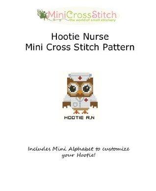 Hootie Nurse Mini Cross Stitch Pattern Pinoy Stitch