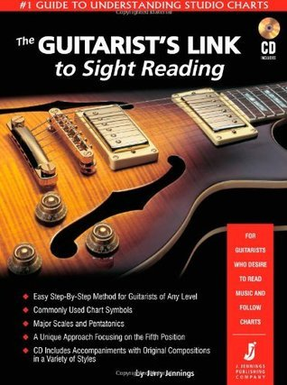 The Guitarists Link to Sight Reading - #1 Guide to Understanding Studio Charts [Book/CD]  by  Jerry  Jennings