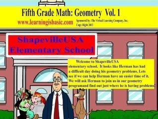 Fifth Grade Math Geometry Textbook Vol. 1  by  Thomas Monahan