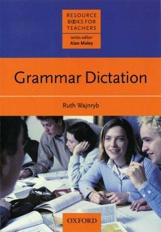 RBT: Grammar Diction (Resource Books for Teachers) Ruth Wajnryb