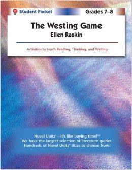 Novel Units: The Westing Game  by  Ellen Raskin