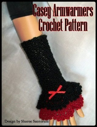 Casey Armwarmers Crochet Pattern  by  Sharon Santorum