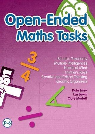 Open-Ended Maths Tasks Clare Morfett