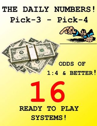 The Daily Numbers Pick-3 Pick-4  16 READY TO PLAY SYSTEMS!  by  Bill Salvo