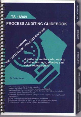 Ts 16949:2009:Process Auditing Guidebook Patrick Ambrose