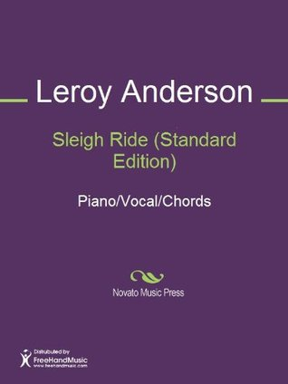 Sleigh Ride (Standard Edition) Sheet Music (Piano/Vocal/Chords)  by  Leroy Anderson