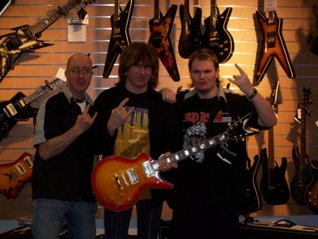 Guitar Shop Store Start Up Sample Business Plan!  by  Kelly L.  Lee