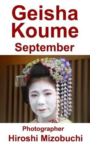 Geisha Koume September Kyoto Flowertourism