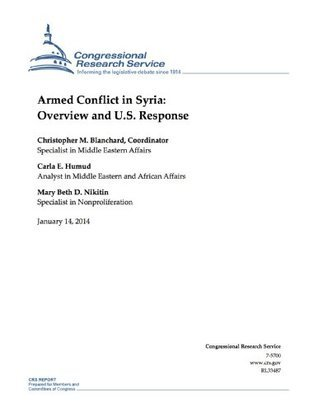 Armed Conflict in Syria: Overview and U.S. Response Christopher M. Blanchard