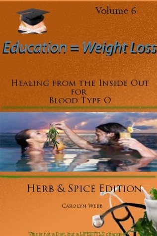 Healing from the Inside Out for Blood type O Herb & Spice Edition  by  Carolyn Webb