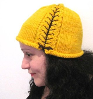 Laces Out Corset Cloche Hat Knitting Pattern  by  Melissa Martinez