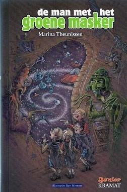 De man met het groene masker  by  Marina Theunissen