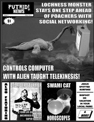 Putrid News Issue 1 & 2 Swami Cat