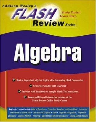 Flash Review Series: Algebra Jon Becker