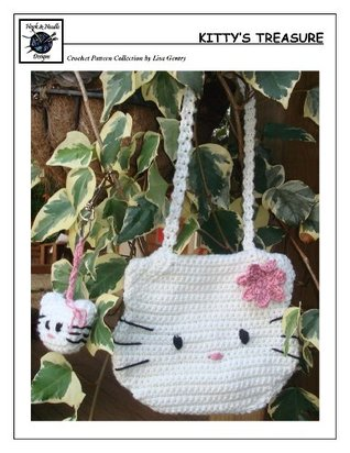 Kittys Treasure - Crochet Pattern #130 for Bag and Keychain  by  Lisa Gentry