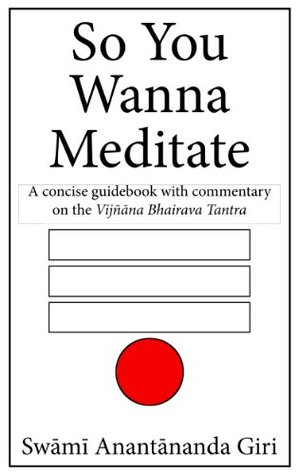 So You Wanna Meditate - A concise guidebook with commentary on the Vijnana Bhairava Tantra  by  Swami Anantananda Giri