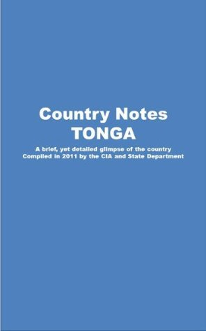 Country Notes TONGA  by  Central Intelligence Agency (C.I.A.)
