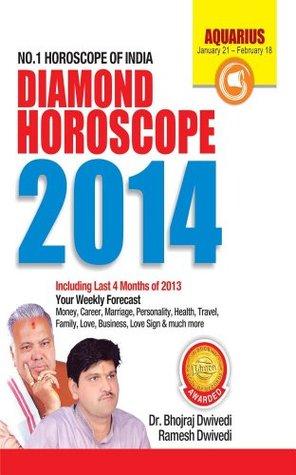 Annual Horoscope Aquarius 2014  by  Bhojraj Dwivedi