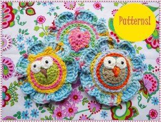 Lovely Flowers With Owls Crochet Patterns  by  Wonderful Hands