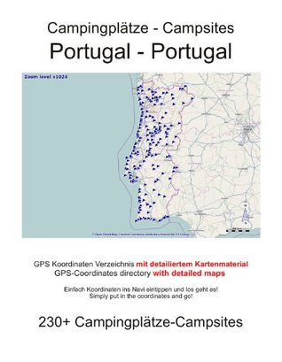 Campsite Guide PORTUGAL  by  M. lab