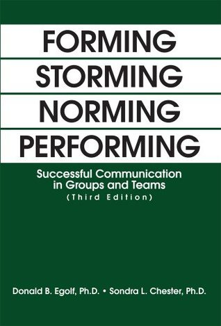 FORMING STORMING NORMING PERFORMING: Successful Communication in Groups and Teams Donald Egolf and Sondra Chester