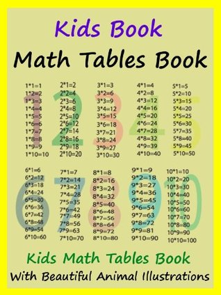 Kids Math Tables Book : Teach Math Tables To Your Kids  by  Megs