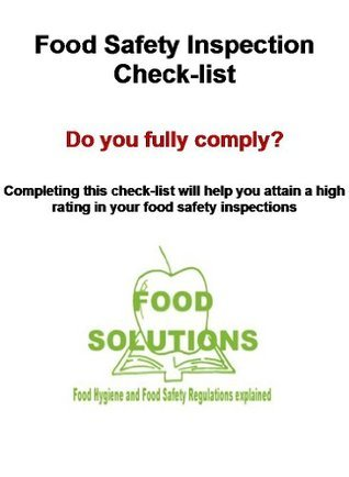 Food safety Inspection Check-List  by  Bob Salmon