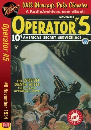 Operator #5 #8 November 1934 Curtis Steele