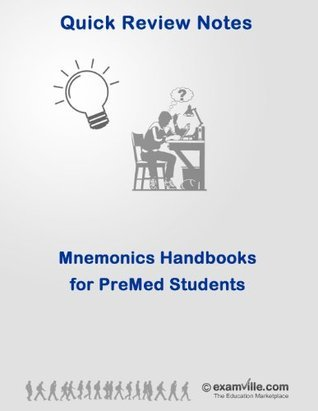 Mnemonics Handbook for Premed Students: Biology, Physiology, Chemistry and Physics (Quick Review Notes)  by  V. Sharma