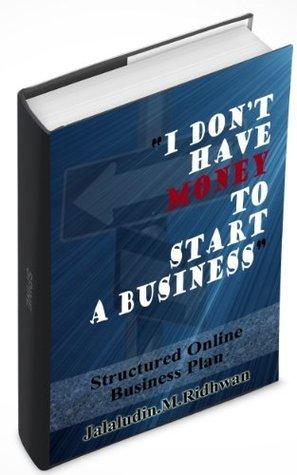 Structured Online Business Plan Ridhwan Jalaludin